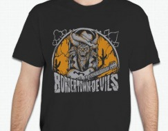 Bordertown Devils Color Shirt